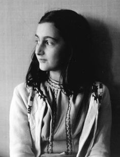 """Anne Frank (1929-1945) Dutch, Jewish author. Anne Frank's diary is one of the most widely read books in the world. It reveals the thoughts of a young, yet surprisingly mature 13-year-old girl, confined to a secret hiding place. """"Despite everything, I believe that people are really good at heart."""""""