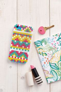 Perler beads phone case idea - Hama beads