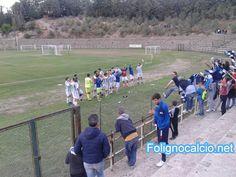 Foligno calcio batte l'Assisi fuori casa, 3 a 0 a favore dei Falchetti