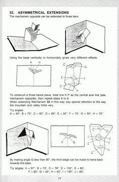 Kirigami Paper Pop Diy Up Art Book Maker Card