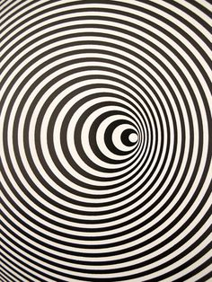 "Marina Apollonio  Italian  1940-  ""Circular Dynamics""  (""Dianamica Circolare"")  1968  Painted wood disk, motorized  (Detail)"