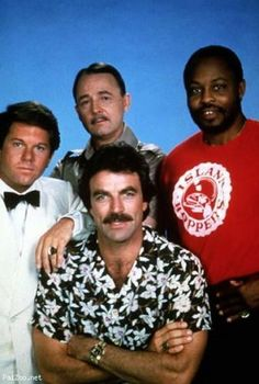 Magnum-PI, something about Tom Selleck