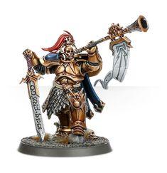 Warhammer Age of Sigmar Warhammer 40k Figures, Warhammer Aos, Warhammer Fantasy, Stormcast Eternals, First Knight, Game Workshop, Starcraft, Cloak, Horns