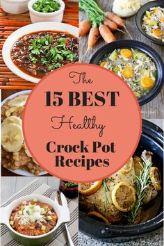 15 Best Healthy Crock Pot Recipes from Snacking in Sneakers (and thanks for the shout-out!) We've rounded up crock pot recipes with healthy ingredients and, for the most part, no cooking beforehand. Enjoy these 15 best healthy crock pot recipes. Crock Pot Food, Crock Pot Slow Cooker, Slow Cooker Recipes, Cooking Recipes, Healthy Recipes, Healthy Crock Pot Meals, Crock Pots, Crockpot Meals, Slower Cooker Recipes Healthy
