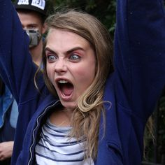 Cara Delevingne's Funniest Faces