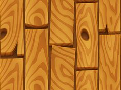 Hand painted textures wood