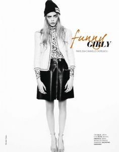 Chanel Jacket - Cara Delevingne - Funny Girly