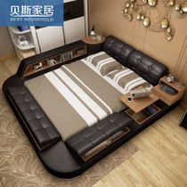 Master bedroom Modern simple 1.8 meters marriage bed
