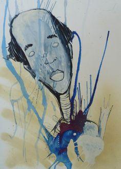Desenho do artista plástico Anderson Hope