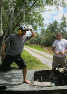 Paul Walker - when he was in New Orleans filming HOURS he went on a Airboat swamp tour.