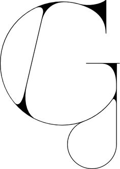 G (Port Vintage typeface), Designer: João Oliveira, Source: My Fonts (http://www.myfonts.com/fonts/onrepeat/port-vintage/). #identity. I like the clean lines and the repeated circular shapes used to design the g. The thin strokes help to make the G look open and airy. #creativetypography