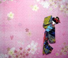 Washi Ningyo: Muñecas Japonesas de Papel