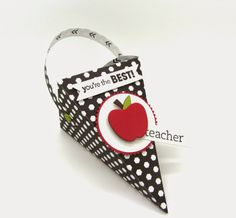 Your're the Best, teacher! 3d Projects, Projects To Try, Thank You Teacher Gifts, Owl Card, Paper Pumpkin, Craft Sale, Best Teacher, You're Awesome, Treat Bags