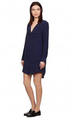 KEIRA DRESS - PEACOAT