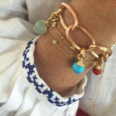 Look of the day #sweetdrops #lovebracelet #gipsy #finejewelry