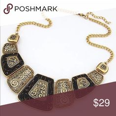 Stunning Statement Necklace Large Bib Statement Necklace Lobster Clasp Antique Vintage & Unique Brand New Boutique Quality Absolutely Stunning if you have any questions please don't hesitate to ask Jewelry Necklaces