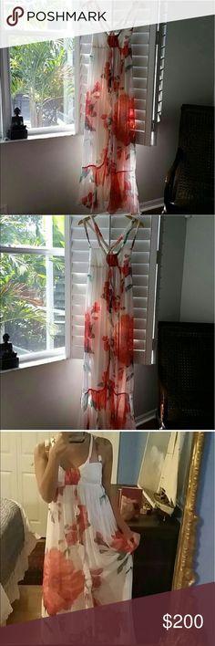 Silk dress Zara Stunning like a new🌹🌹🌹 Zara Dresses