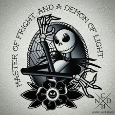 tattoo designs for women/ the nightmare before christmas | nightmare before xmas tattoo | Tumblr