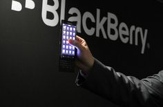Blackberry teased Dual-edge display smartphone with slider keypad