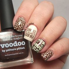 The Clockwise Nail Polish: Uber Chic Beauty 2-01 Stamping Plate Review // Coffee