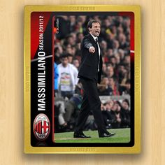 A.C. Milan Collections - Allegri  Massimiliano - Coach