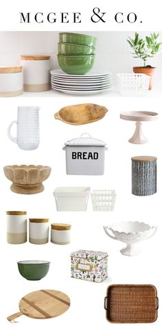 Our McGee & Co. kitchen collection is here!