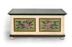 Hand painted chest www.svetpokladu.cz