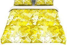 "Kess InHouse Anneline Sophia ""Marbleized In Gold"" Yellow Twin Cotton Duvet, 68 by 88-Inch Kess InHouse http://www.amazon.com/dp/B00NBO0IOA/ref=cm_sw_r_pi_dp_9bBgub0M6472Y"