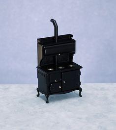 Puppenhaus Miniatur 1:12 Maßstab Küchenmöbel altmodisches viktorianisches Kochherd Herd Town Square Miniatures http://www.amazon.de/dp/B000WAYC7A/ref=cm_sw_r_pi_dp_7QFrvb1CTMRD2