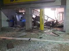 #News  Criminosos explodem caixas em agência de Rodeiro, MG
