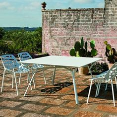 Table Carrée Radice Quadra Fast Jardinchic
