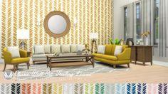 Simsational designs: Classic Wall Set - Wallpaper dump 01 • Sims 4 Downloads