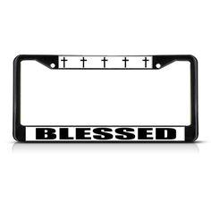 MY TREASURE IS IN HEAVEN License Plate Frame