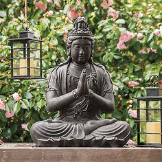 Buy Meditating Garden Buddha Statue online at Gump's