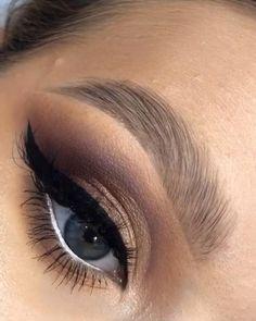 Smoke Eye Makeup, Eye Makeup Art, Sexy Makeup, Natural Eye Makeup, Eyeshadow Makeup, Smoky Eyeshadow, Fall Makeup, Evening Eye Makeup, Eye Makeup Designs