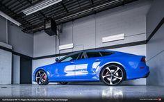 Audi Exclusive Nogaro Blue RS 7 at The Audi Exchange - Fourtitude.com