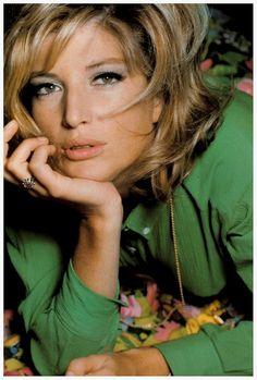 Monica Vitti by David Bailey, 1965