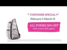 Thirty-One February 2015 Customer Special - YouTube www.mythirtyone.com/sweldon