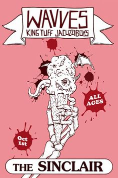 GigPosters.com - Wavves - King Tuff - Jacuzzi Boys
