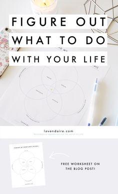 finding your ikigai & purpose | lavendaire free worksheet