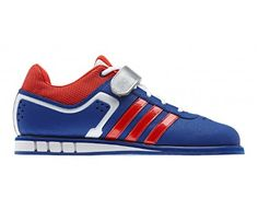 Amazon.com: Adidas Mens Powerlift Trainer 2 Weightlifting Shoes - Pride ink /Red