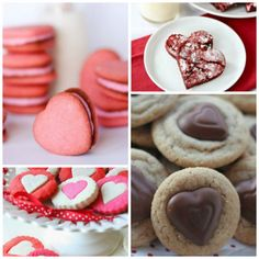 Objects of confection. Bake It Sweet! 20 Valentine Cookie Recipes| Spoonful #cookies #valentinesday #heart
