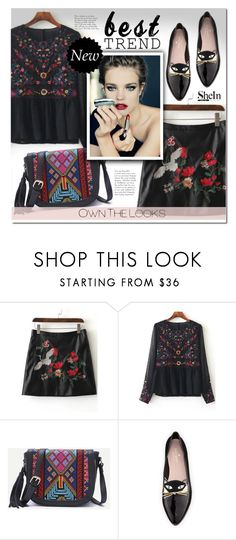 """""""Shein 6"""" by e-mina-87 ❤ liked on Polyvore featuring Kate Spade"""