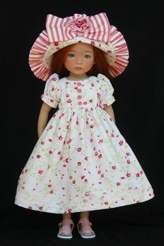 French Rose OOAK Outfit for Effner 13 034 Little Darling by Glorias Garden | eBay