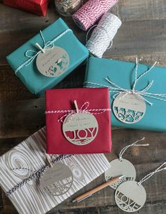 10 Gorgeous and Easy-To-Make Christmas Gift Tags