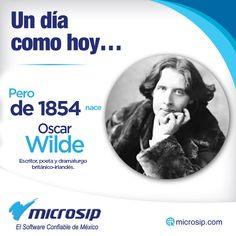 Un día como hoy, 16 de octubre, pero de 1854 nace Oscar Wilde, escritor, poeta y dramaturgo británico-irlandés.