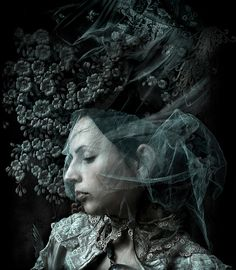 My mothers widow....... by Kirsty Mitchell, via Flickr