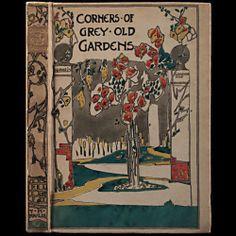 1917 Jessie M King Illustrated Gardens Gardening