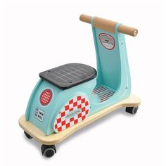 Award winning Jamm Scoot Aqua Racer Ride On an ideal gift for a birthday present.