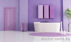 Дизайн окрашенной ванной